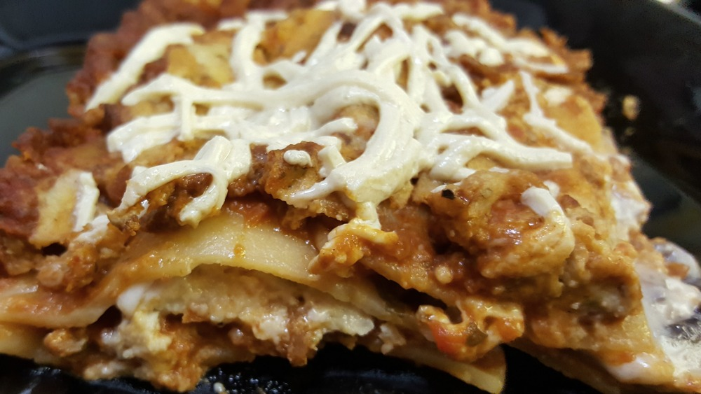 This vegan lasagna with Basil Cashew Ricotta is delicious and simple to make.