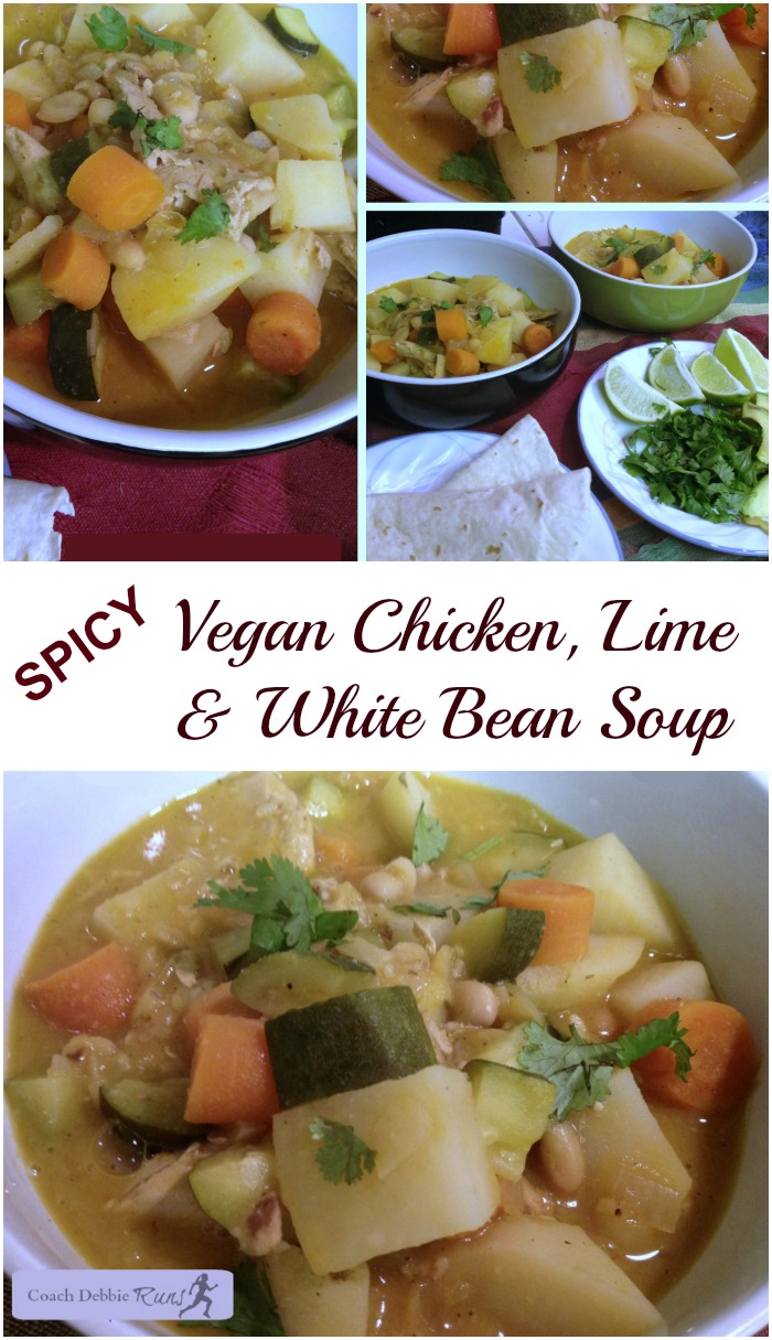 This spicy chicken, lime and white bean soup will warm you up this winter! It's a go-to recipe in our home. Easy to prepare and delicious!