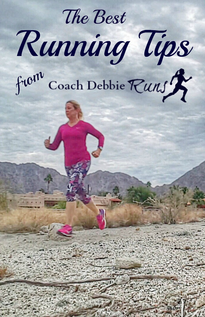Here's a compilation of the best running tips from 2016 from Coach Debbie Runs.