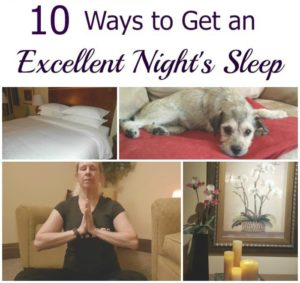 10 Easy Ways to Get an Excellent Night's Sleep