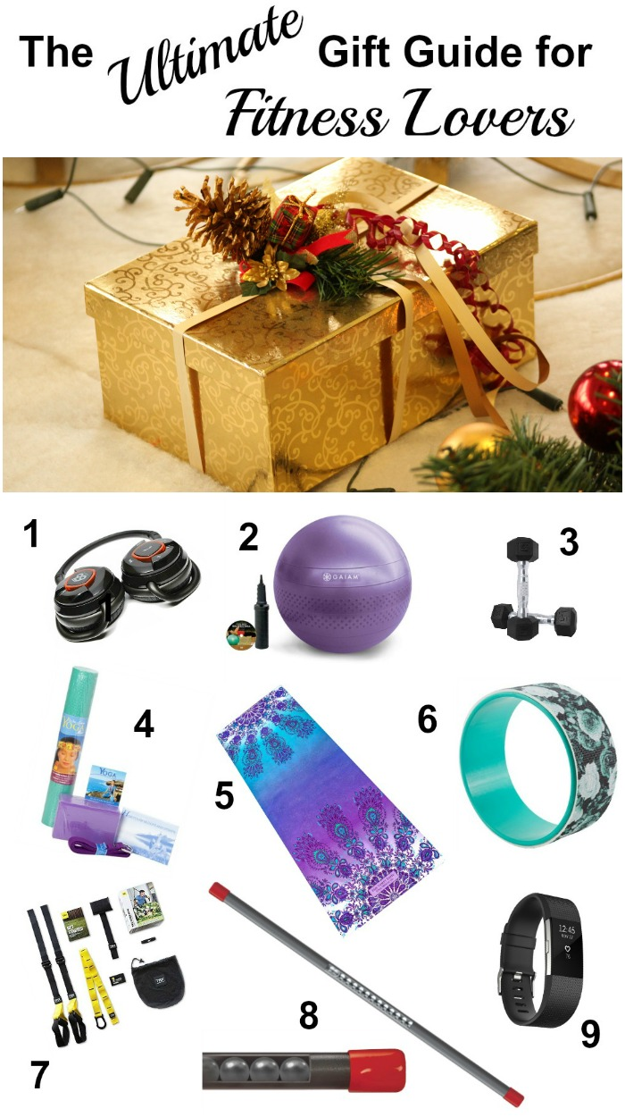 Whether you have a few more gifts to buy, or want some ideas for your own wish list, the Ultimate Gift Guide for Fitness Lovers will help you!