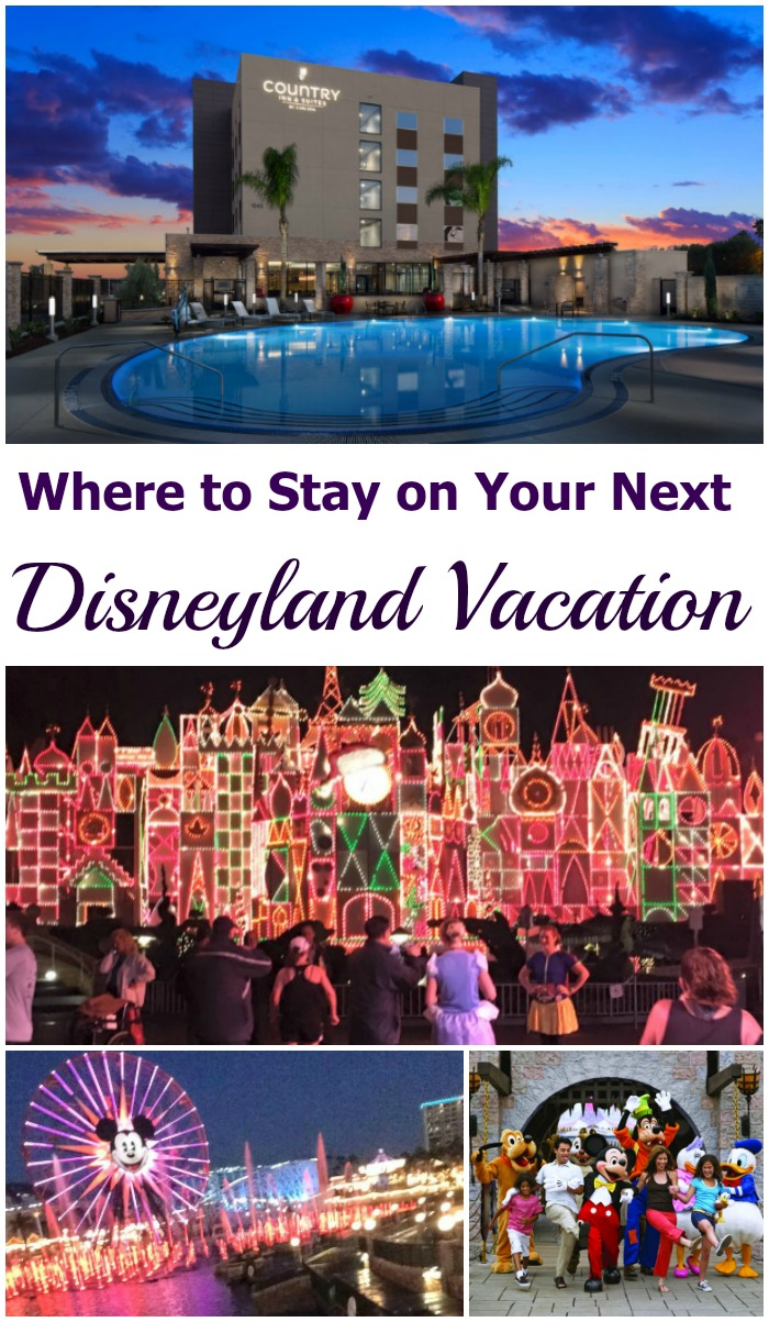 Planning a trip to Disneyland? The Country Inn and Suites offers walking-distance accomodations with complementary hot breakfast, large rooms, and a fitness center! Close enough to watch the nightly fireworks poolside! #ad