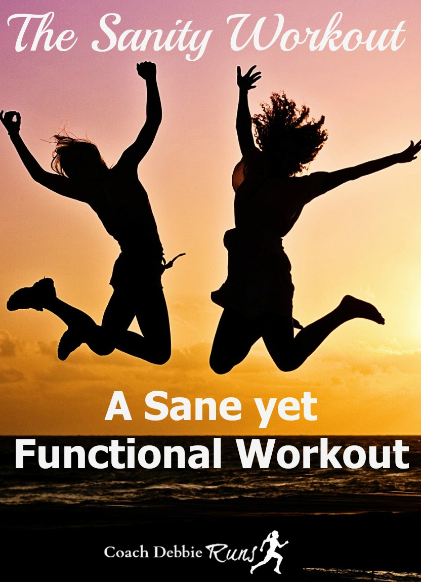 Whether you're a beginner or experienced at fitness, crazy workouts aren't for everyone. If you're looking for something a little saner than leap frog squats, you've come to the right place. I'm happy to present the Sanity Workout.