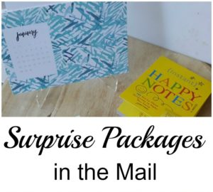 Friday Five: Surprise Packages in the Mail!