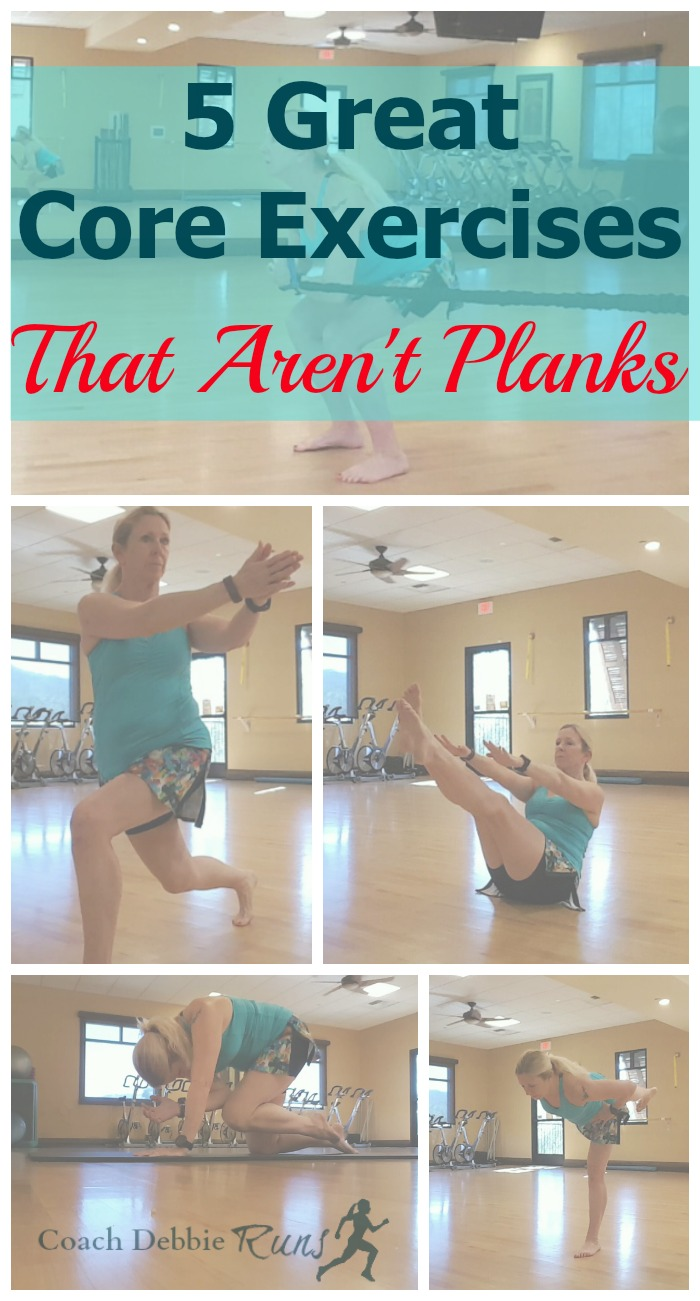 Are you tired of planks? Here are 5 great core exercises for athletes that aren't planks!