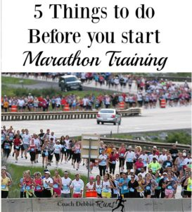 5 Things to Do Before Starting Marathon Training