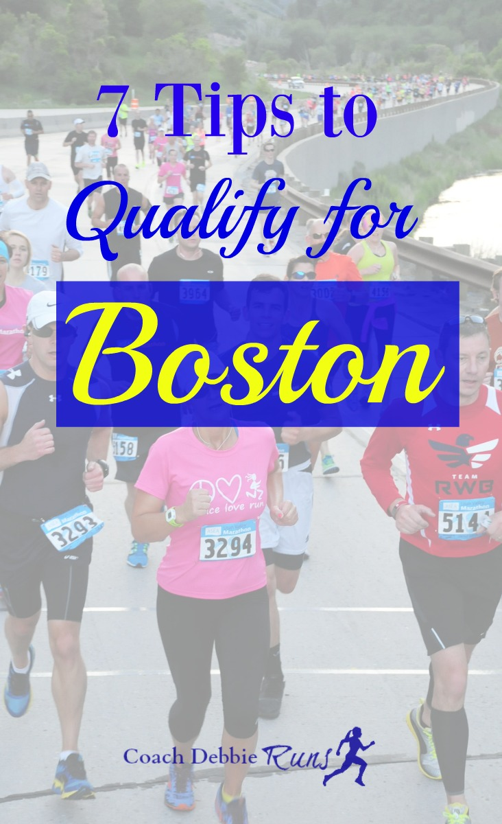 Do you want to qualify for Boston? Or run your best marathon? Here are 7 tips that will help you reach your running goals.
