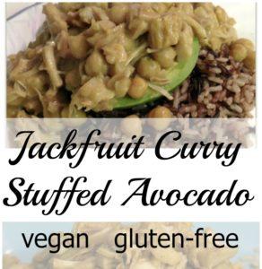 Jackfruit Curry: A Delicious Way to Stuff an Avocado