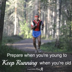 Prepare When You're Young to Keep Running When You're Old
