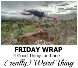 Friday Wrap: Four Good Things and One Weird Thing