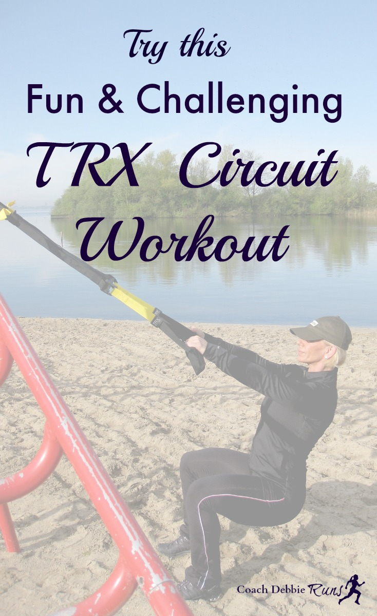 Do you love functional training? Here's a fun TRX circuit workout to try! It's challenging, but the exercises are beginner to intermediate level.