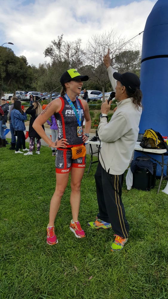 We spent a busy weekend in San Dimas at the first race in the TriEvents LA Triathlon Series!