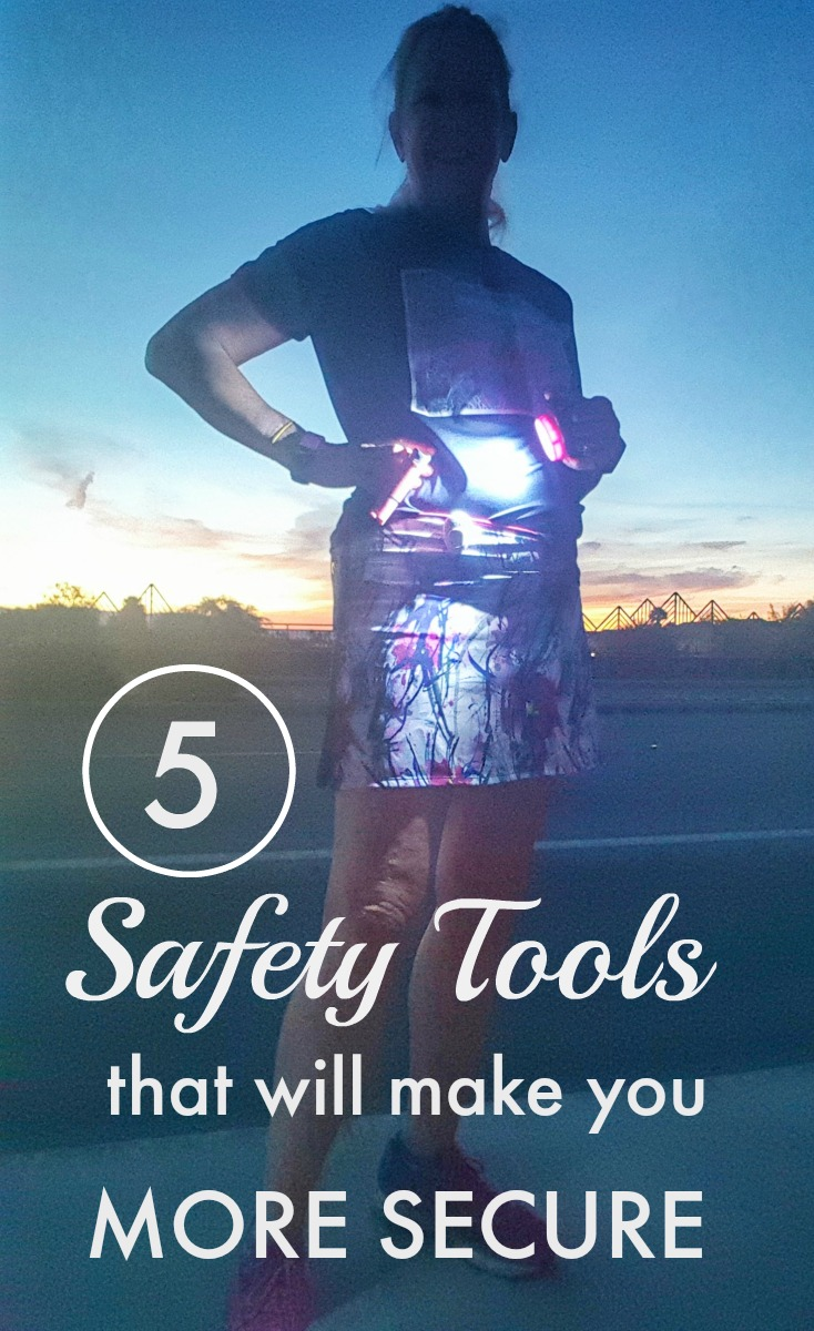 "Because of the risks involved with running alone, I have started ""arming"" myself with certain safety tools. Here are five of my favorites."