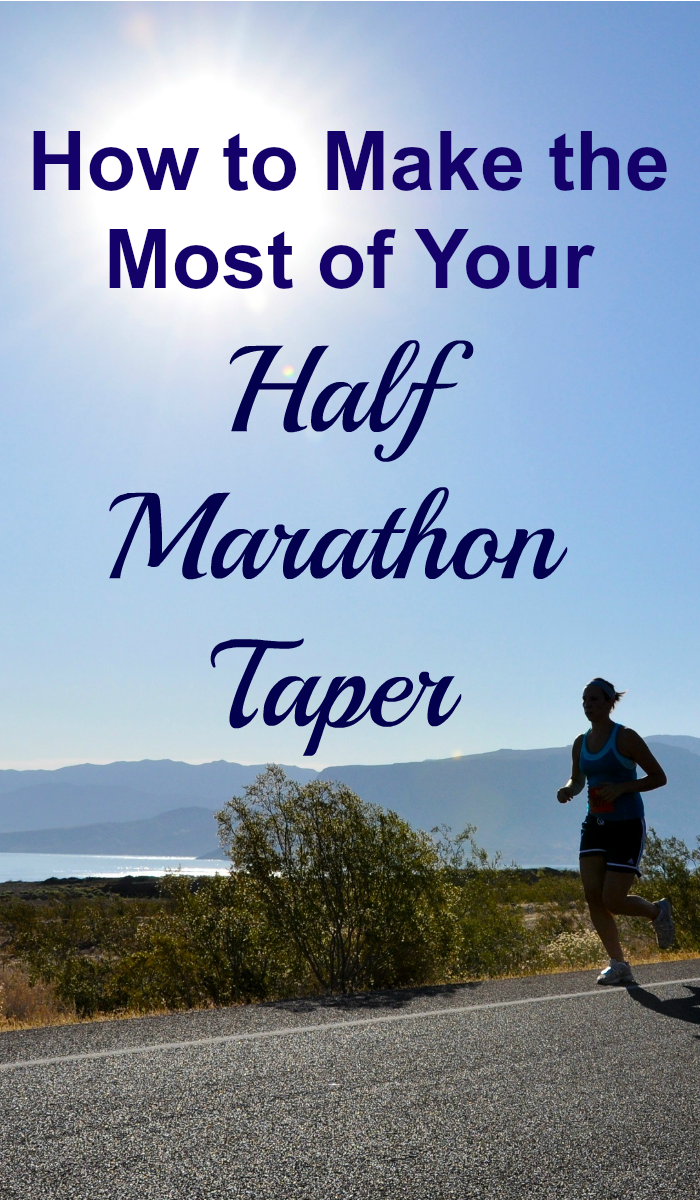 You've worked hard. You've followed your training plan and now you're about two weeks out from your race. It's time for your half marathon taper.