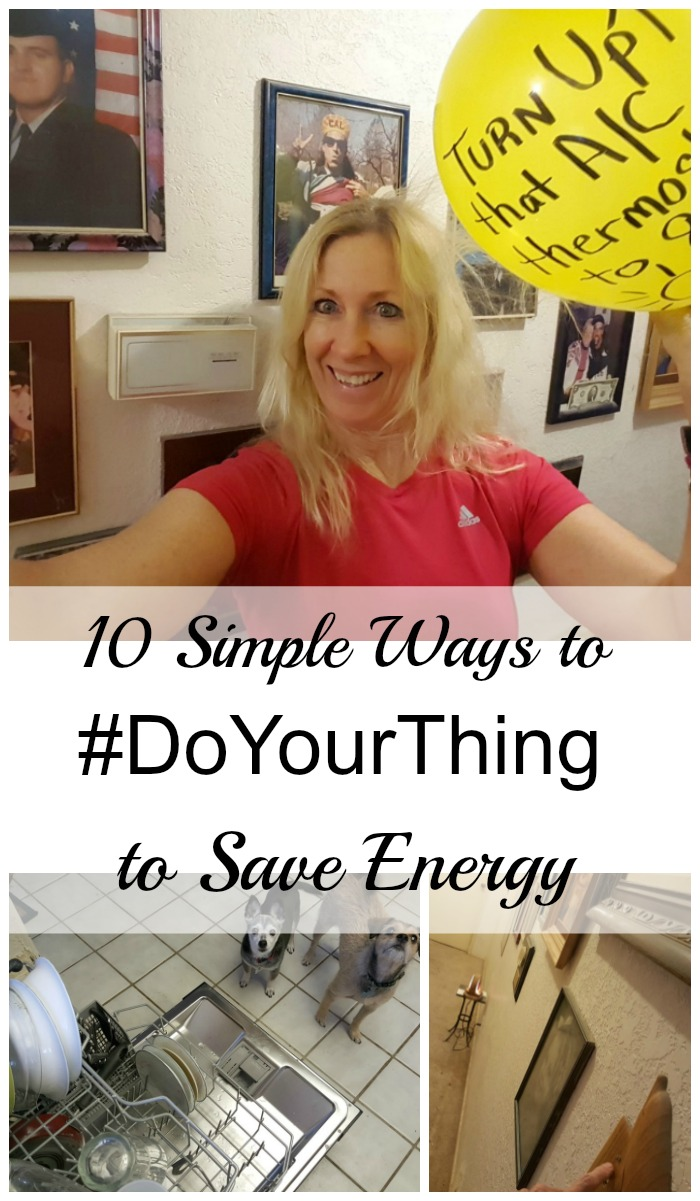 Want to save energy and money? Follow these 10 simple tips and you'll do both! #ad #DoYourThing