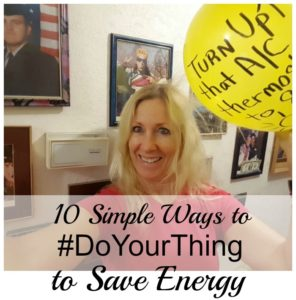 10 Simple Ways to #DoYourThing to Save Energy!