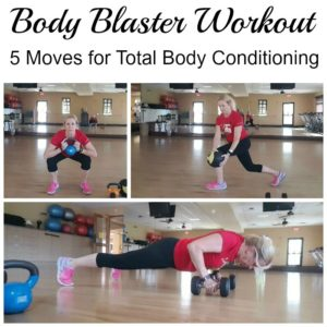 Ultimate Body Blaster Workout: 5 Moves for Total Body Conditioning