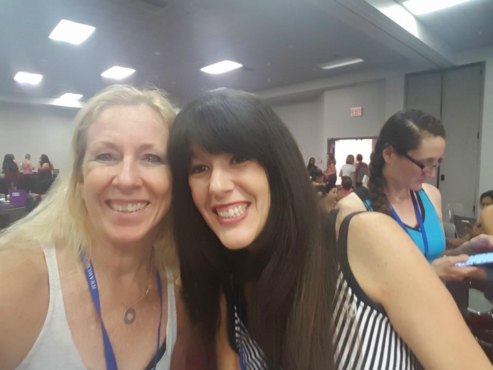 Enjoying the Blogfest Experience!