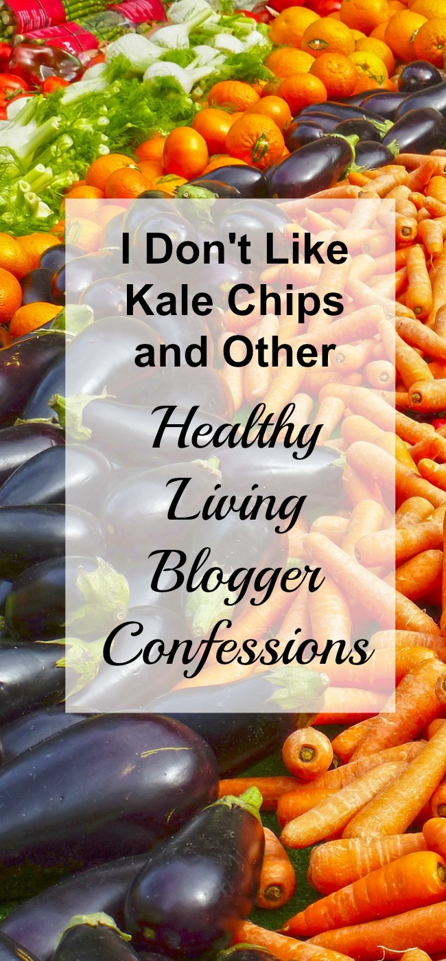 I may be a healthy living blogger but I'm not perfect. Here are my blogger confessions.