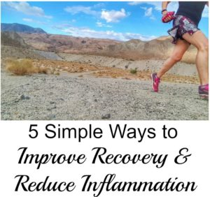5 Simple Ways to Improve Recovery and Reduce Inflammation + GOPO Giveaway