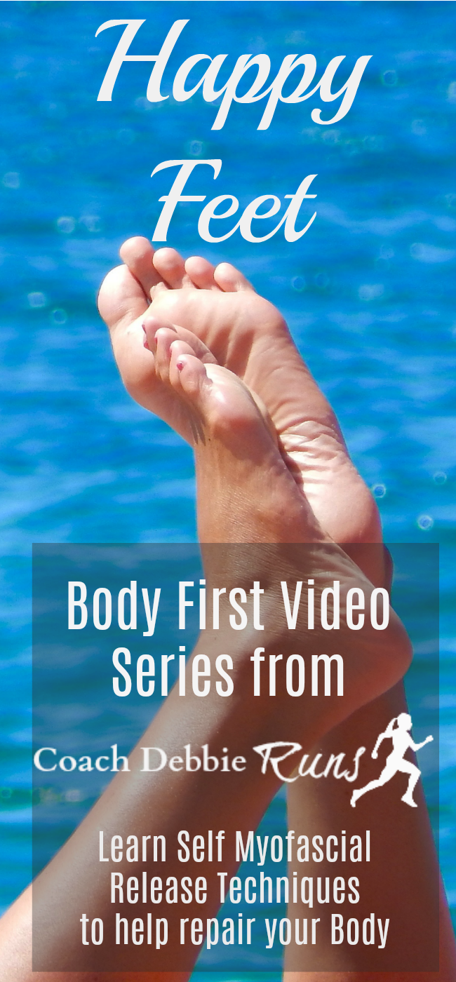 My Body First Video Series will help you put your body first. Using self myofascial release, stretching, and other techniques you can reduce pain and improve performance. First up: Happy Feet!