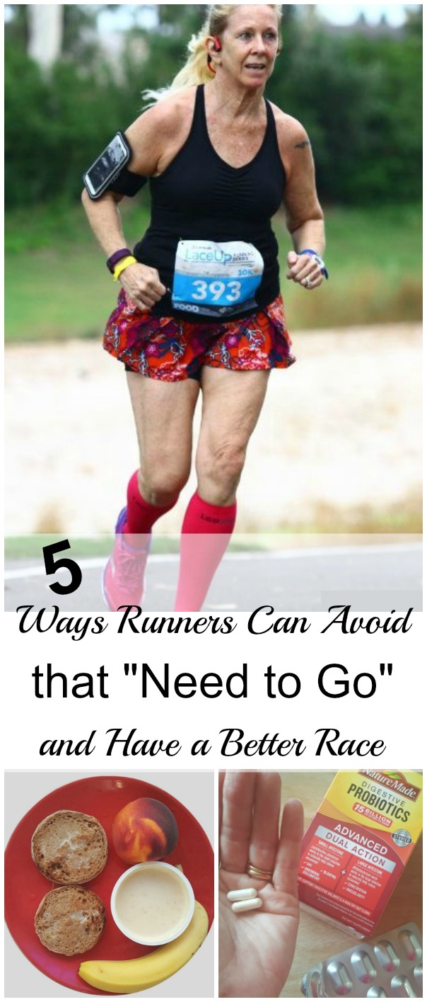"sponsored Have you ever had stomach discomfort or bloating during a race? Or worse? Here are 5 ways runners can avoid that ""need to go"" and have a better race. #NatureMadeProbiotics"