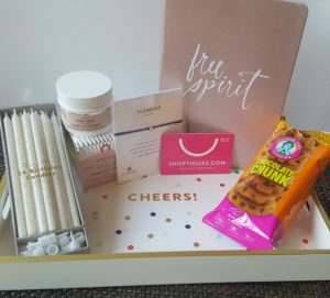 Popsugar Birthday Box plus the August StrideBox and My Lucky Vitamin Haul