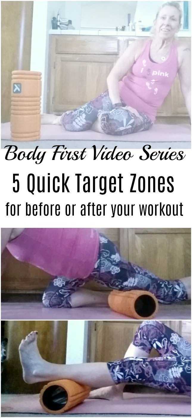 In this latest edition of the Body First Video Series, learn 5 quick target zones that you can foam roll before or after your run or workout.