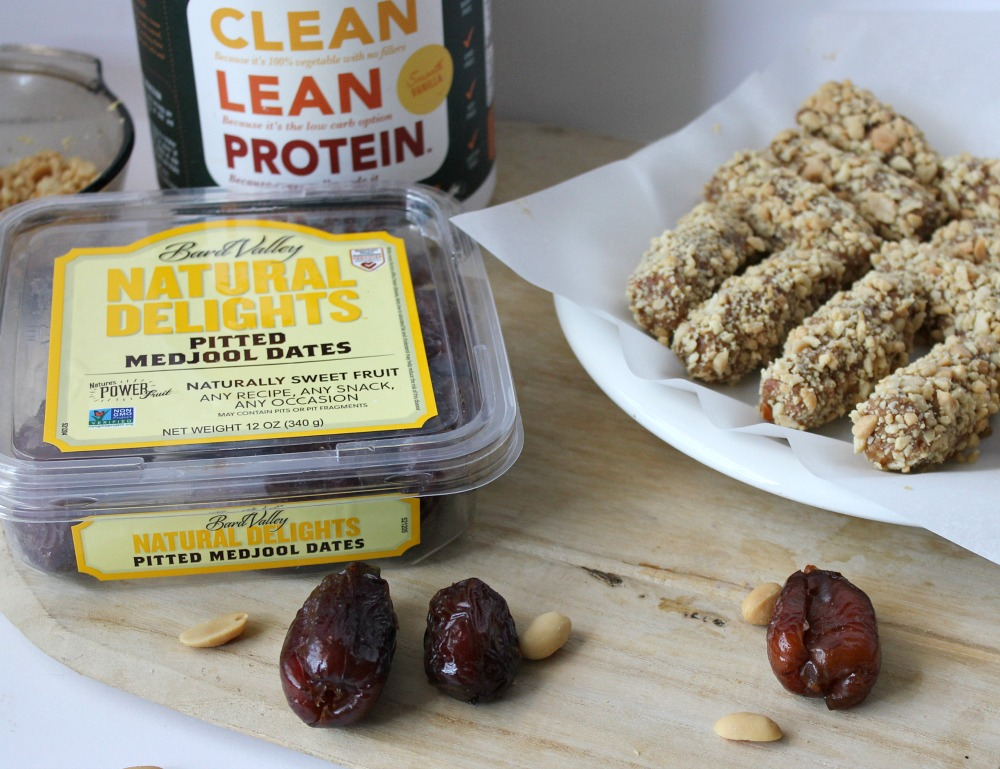 As sweetly delicious as the famous candy bar, these Medjool Date Nutty Caramel Protein Bars have only three ingredients, and they are gluten-free, dairy-free, and vegan.