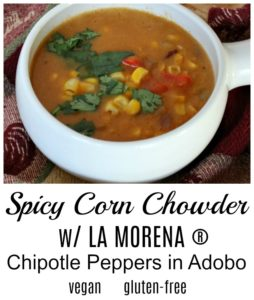 Spicy Corn Chowder with LA MORENA® Chipotle Peppers in Adobo