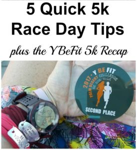 5 Quick 5k Race Day Tips plus the YBeFit Palm Desert Challenge 5k Recap