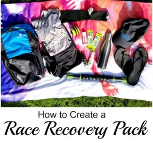 Improve Your Recovery by Creating a Race Recovery Pack