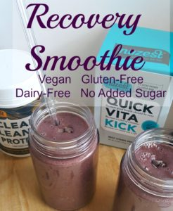 Friday Fun: Recovery Smoothie with NuZest plus Racing News!