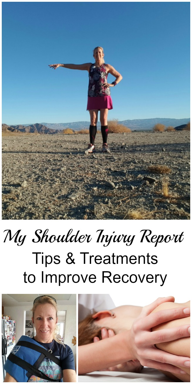 Here's my shoulder injury report, including some tips and the treatments that I used to speed along my recovery. #injury #shoulderinjury #malibuhalfmarathon #running #trainbetter
