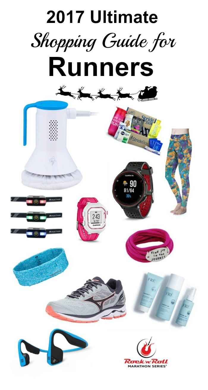 If you have a runner on your gift list here is my 2017 Ultimate Holiday Gift Guide for Runners.