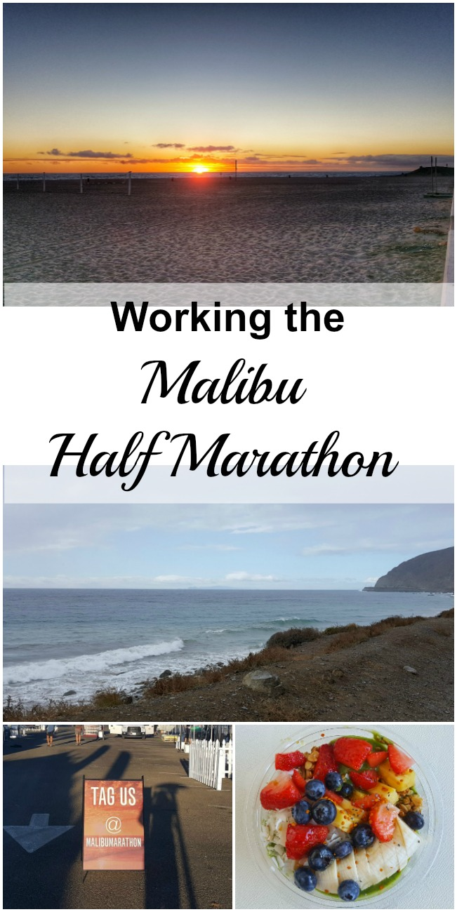 I thought it would be fun to share the experience of a large racing event like the Malibu Half Marathon from the point of view of a worker. I did not run the race, but I'm pretty sure I worked just as hard. But I'll let you be the judge.