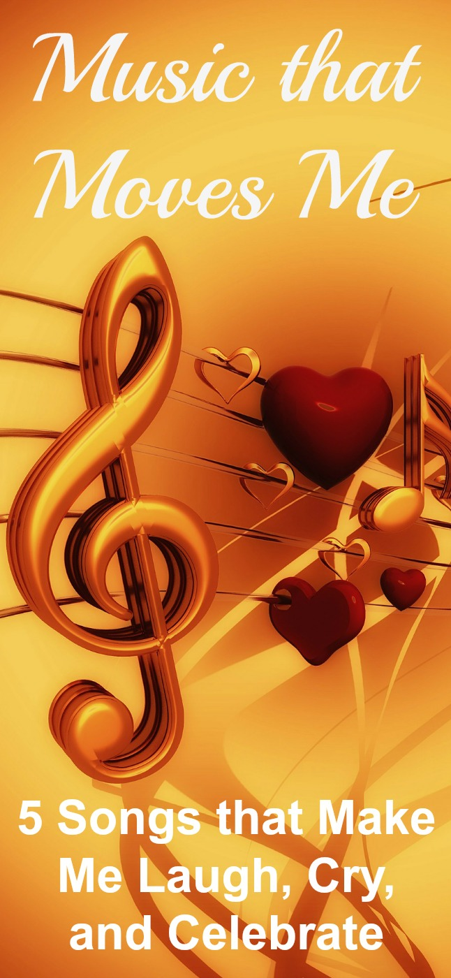 Music is a powerful trigger. Here is the music that moves me. Songs that make me cry, laugh, and celebrate. What music moves you? #music