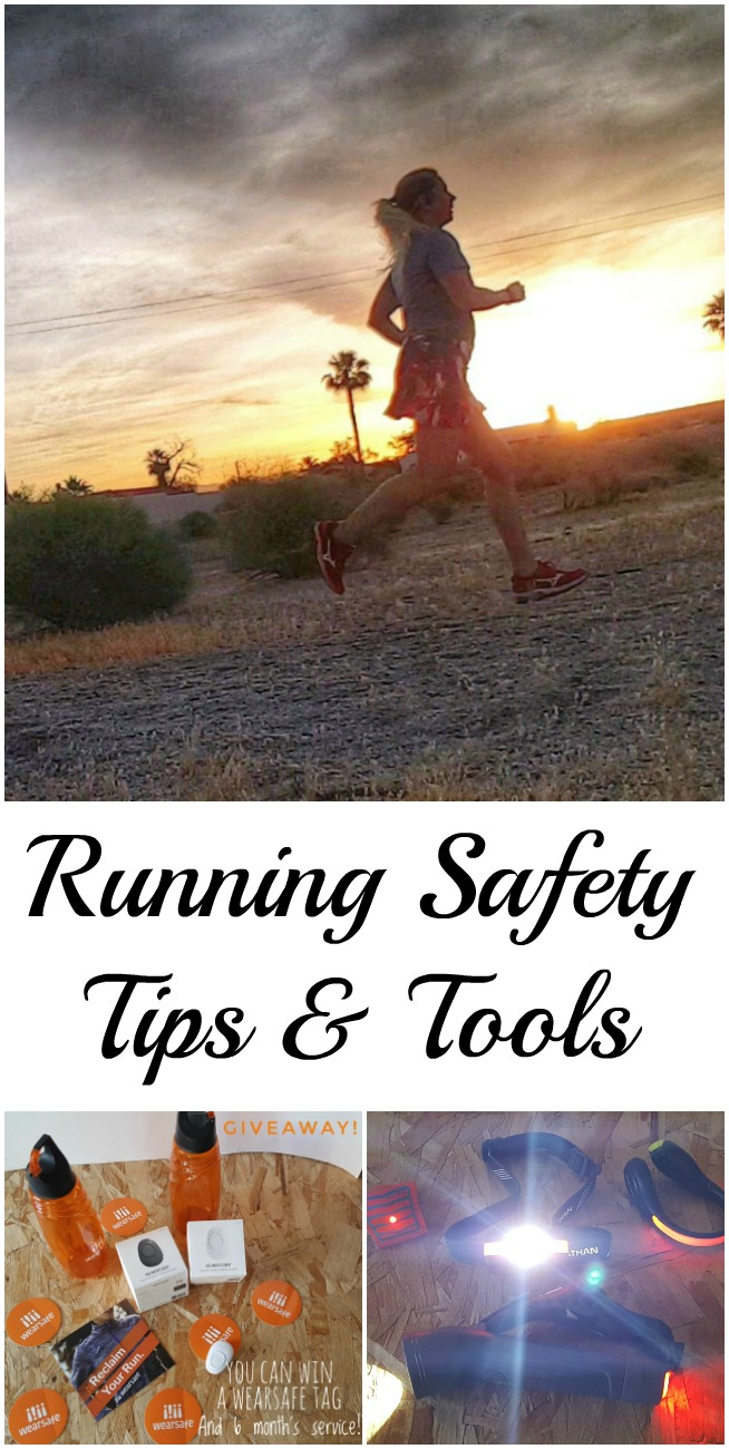 Running Safety Tips and Tools