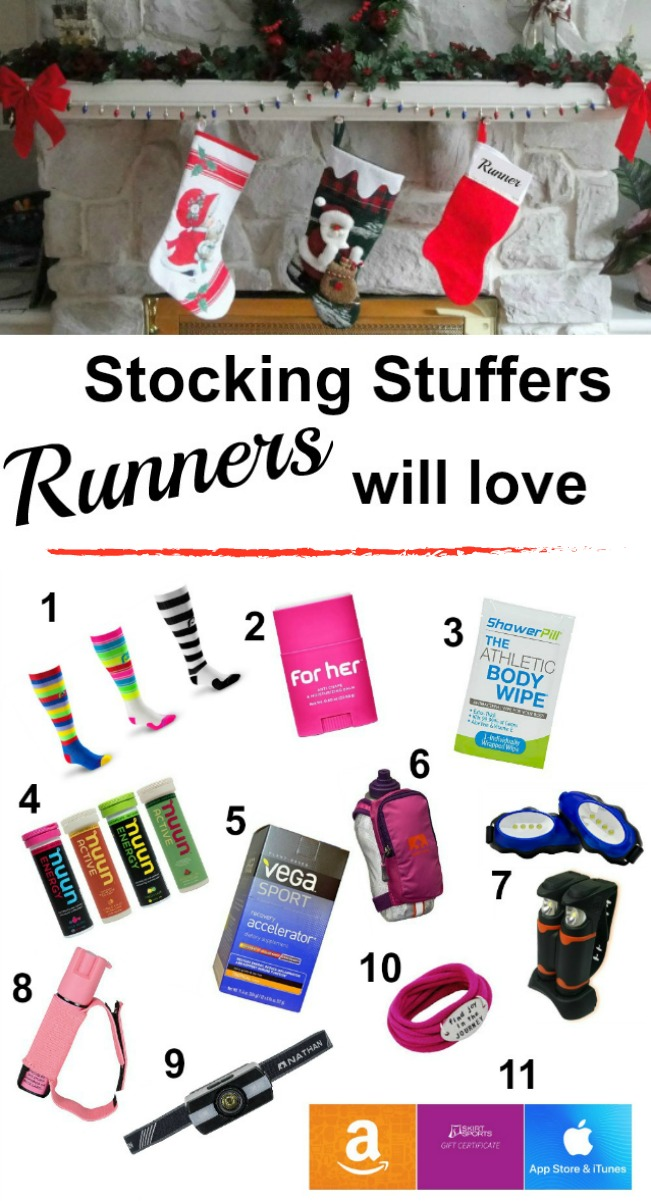 Still looking for gifts for the runner in your life? Here are some stocking stuffers runners will love!