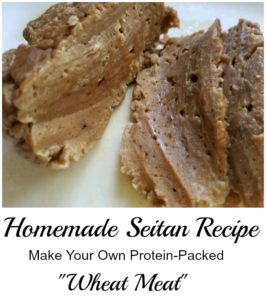 "Easy Homemade Seitan Recipe. Make Your Own Protein Packed ""Wheat Meat!"""
