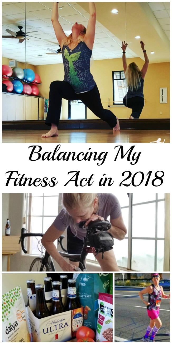 One of my goals for 2018 is balancing my fitness act. I love to run, but I need more balance. Getting back on my bike and my yoga mat, taking better care of my body, while continuing to run and strength train are all part of the plan. #ad #MichelobULTRA #liveULTRA
