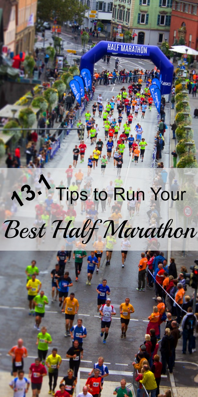 13.1 Tips to Help You Run Your Best Half Marathon