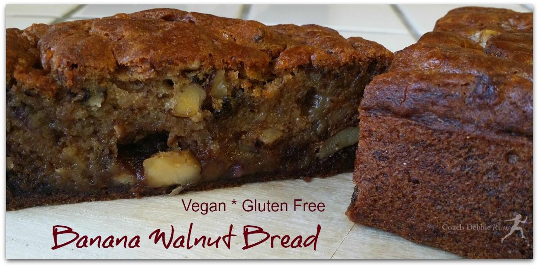 The Best Banana Walnut Bread Gluten Free And Vegan