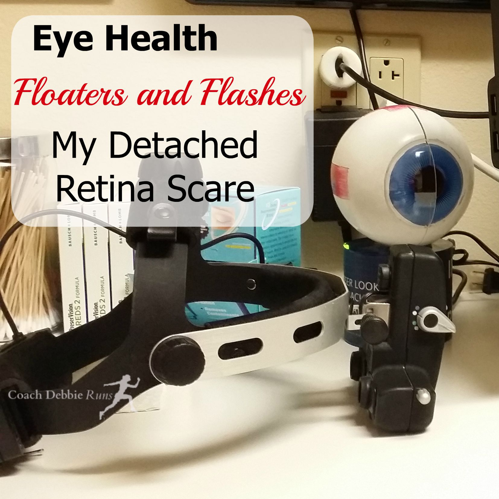 Floaters and Flashes: My Detached Retina Scare